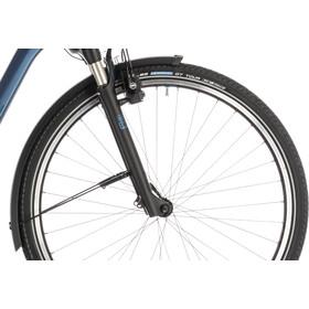 Cube Town Hybrid EXC 500 E-citybike Trapez blå